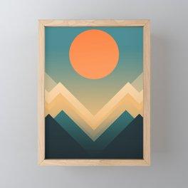 Inca Framed Mini Art Print