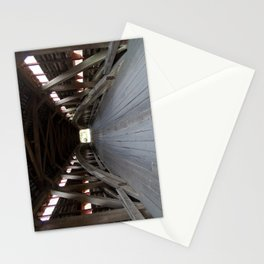 Inside A Covered Bridge Stationery Cards