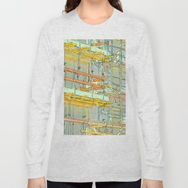 Construction site scaffolding in Berlin Long Sleeve T-shirt