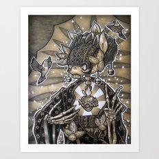 Madre Naturaleza Art Print