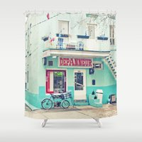montreal Shower Curtains featuring Montreal by sylvianerobini