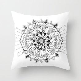 Mandala Series 03 Throw Pillow