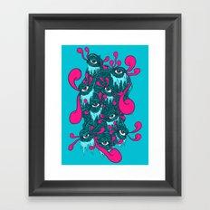 Of The Beholder V2 Framed Art Print