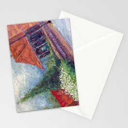 Manassas Junction Train Station Stationery Cards
