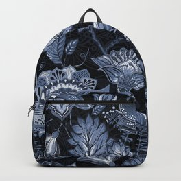 Blooms in the blue night Backpack