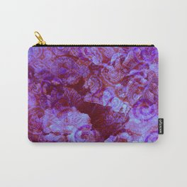 Hydrangea Paisley Abstract Carry-All Pouch