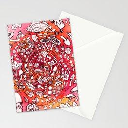 So Many Cute Mushrooms Stationery Cards