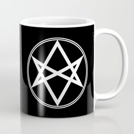 Men of Letters Symbol White Coffee Mug