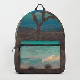 Joshua Tree Aqua Sunset Backpack