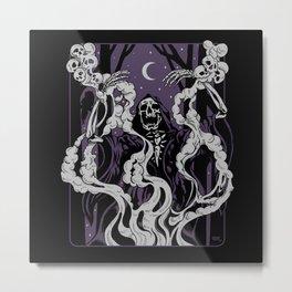 Conjuring Metal Print