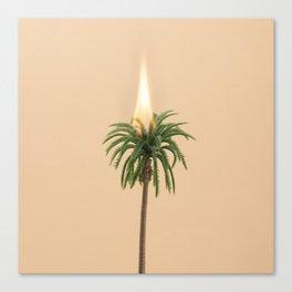 Bushfire emergency Canvas Print