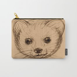 Baby Mongoose Sketch Carry-All Pouch