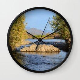 Salt River Arizona Wall Clock