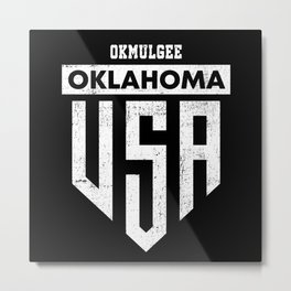 Okmulgee Oklahoma Metal Print