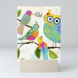 """""""Seeking Words of Wisdom"""" Mini Art Print"""