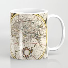 Vintage Celestial Map 1641 Coffee Mug