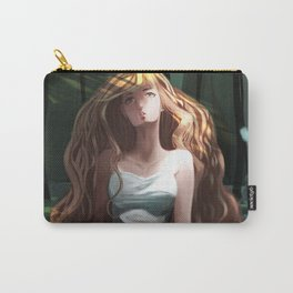 Girl in the Forest Carry-All Pouch