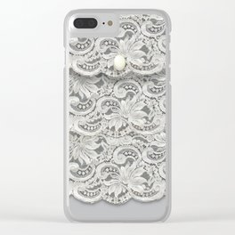 Chantilly Clear iPhone Case