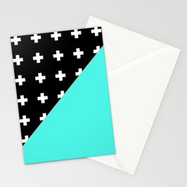 Memphis pattern 78 Stationery Cards