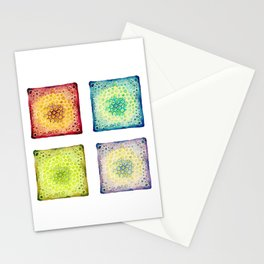 Under the Scope - Diatoms Stationery Cards
