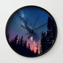 Milky Way IV Wall Clock