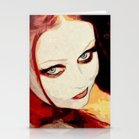 harley Stationery Cards featuring Harley by Sirenphotos