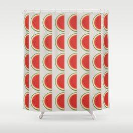 The Watermelon Shower Curtain
