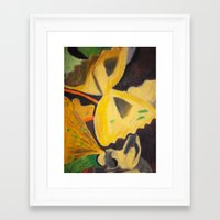 pasta Framed Art Prints featuring Pasta by Stefanie Sharp