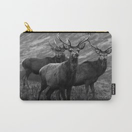The four stags on the loch b/w Carry-All Pouch