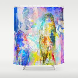 Kois Layered Shower Curtain