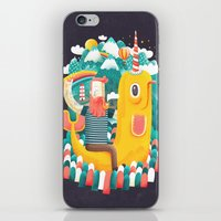 unicorn iPhone & iPod Skins featuring Unicorn by Seaside Spirit