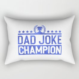 Dad Joke Champion Rectangular Pillow