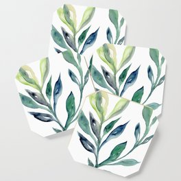 Green bush Coaster