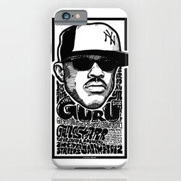 Mr.Guru / Rapper's Delight iPhone Case