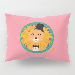 Lion groom with cylinder T-Shirt D2dqz Pillow Sham