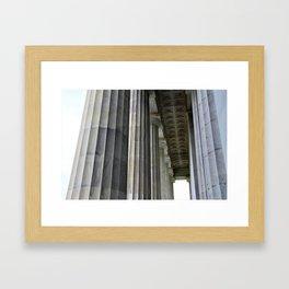 Lincoln Colonnade Framed Art Print