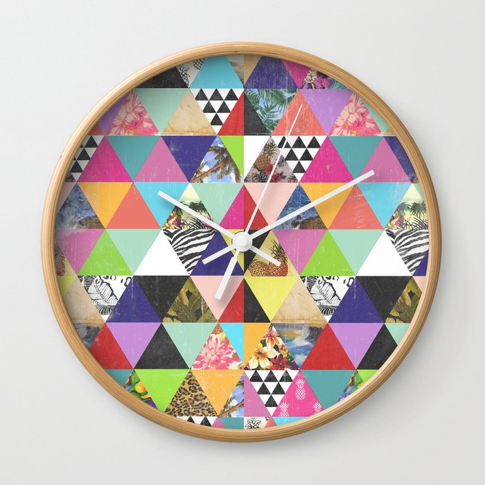 A bit of tropical geometry Wall Clock