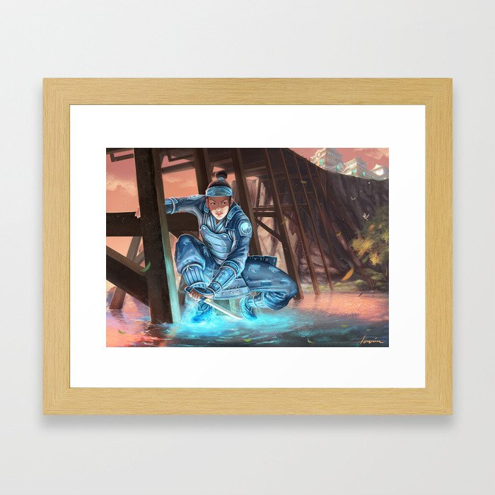 Daidoji Tomomi Framed Art Print