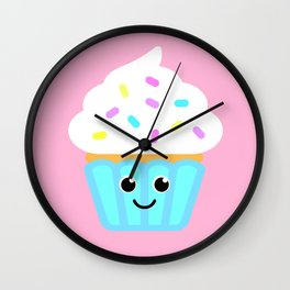The cutest cupcake in town! Wall Clock
