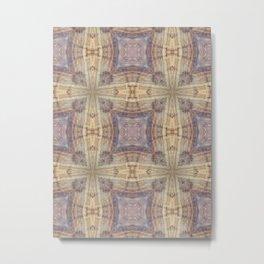 Romanesque Cross Metal Print