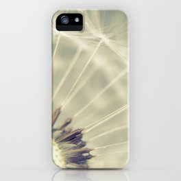 When it rains iPhone Case