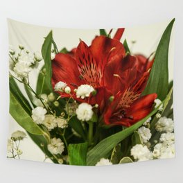 Still life with flowers Wall Tapestry