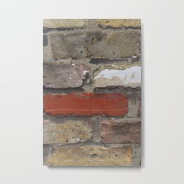 Just another brick in the wall Metal Print