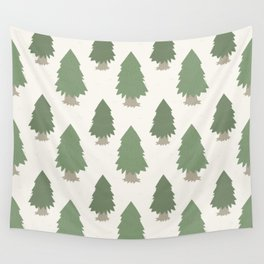 Cut your own Christmas tree (Patterns Please) Wall Tapestry