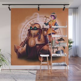 Lucca and Robo Wall Mural