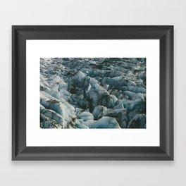 Alaska Glacier Framed Art Print