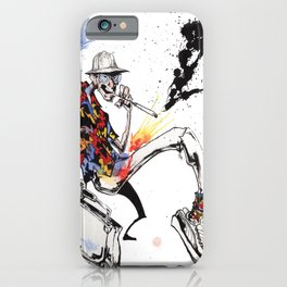 Hunter S Thompson by BINDU iPhone Case