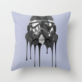 Shadowtrooper Melting 01 Throw Pillow