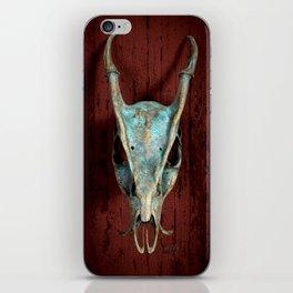 Muntjac Skull iPhone Skin