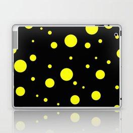 Yellow Bubbles Laptop & iPad Skin